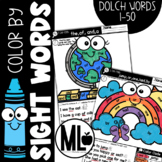 Color by Sight Word *words 1-50*