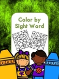Color by Sight Words