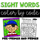 Sight Words Coloring Pages