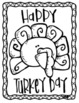 Color by Sight Words + Coloring Pages, Thanksgiving Theme.
