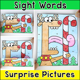 Color by Sight Words Differentiated Surprise Pictures - Christmas Activity
