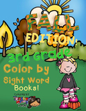 Color by Sight Words ~ FALL Edition (3rd Grade)