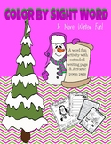 Color by Sight Words & More Winter Fun