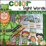 Color by Sight Words St. Patrick's Day