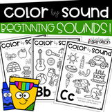Color by Sound Beginning Sounds