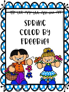 Color by Spring Freebie