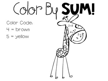 Color by Sum