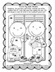 Winter Coloring Pages Color by Code Addition Kindergarten 1st 2nd BUNDLE
