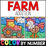 Color by Number: Farm Addition Practice