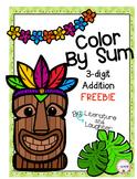 Color by Sum- Luau Themed FREEBIE