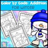Winter Coloring Pages Kindergarten 1st 2nd Grade Addition for Winter No Prep