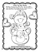 Winter Coloring Pages Color by Code Addition Kindergarten 1st 2nd Grade NO PREP