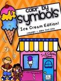 Color by Symbols: Ice Cream Edition