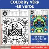 Color by Verbs French ER Verbs - Color by Conjugation - 1 Version