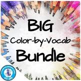 Color-by-Vocab BIG Bundle!   Distance Learning