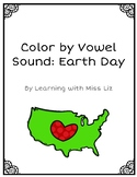 Color by Vowel Sound: Earth Day