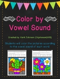 Color by Vowel Sound- Phonics