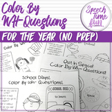 Color by WH Questions