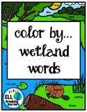 Color by... Wetland Words
