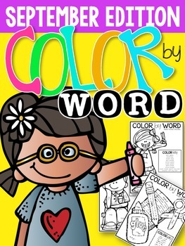Color by Word {September Edition}