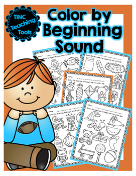 Color by beginning sound