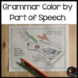 Grammar color by parts of speech activity