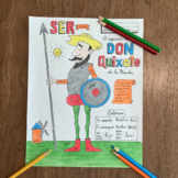 Color by conjugation SER Don Quixote NO PREP Spanish verb conjugation
