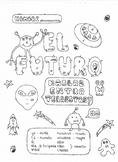Color by conjugation Spanish future tense conjugation no p