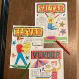 Color by conjugation Spanish present tense verbs 15 pages