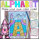 Coloring pages of abc