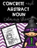 Color by Noun/ Action Verb - Halloween Edition