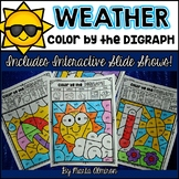 Color by the DIGRAPH {Weather Theme}