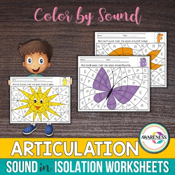 Color by the Sound:Articulation  Sound in Isolation