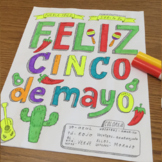 Color by verb conjugation ~ser ~cinco de mayo ~no prep ~Sp