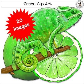 Green color clipart