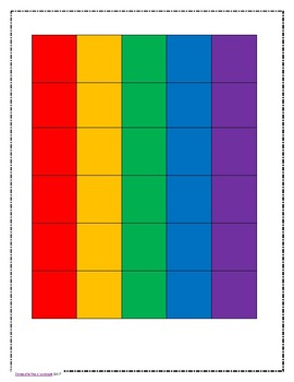 Color-coded Seating Chart *Editable*