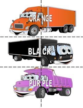Color - ful  Trucks