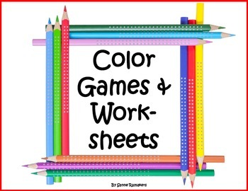 Color pack: games and worksheets