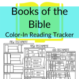 Color-in Books of the Bible Reading Tracker Printable