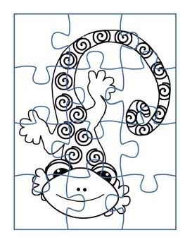Color in Gecko Puzzle