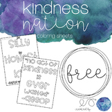Color in Kindness Quotes #kindnessnation #weholdthesetruths