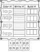 Color it, Write it, Build it -ap Word Family