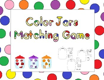 Color jars matching Game
