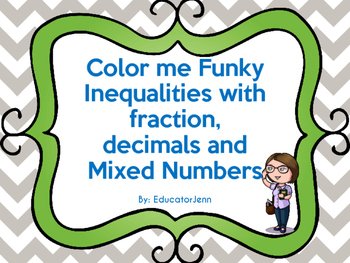 Color me Funky Inequalities 2 versions