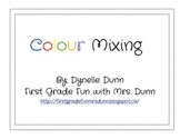 Color mixing SMART lesson