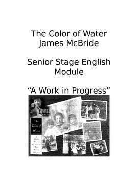 Color of Water Resource Packet James McBride