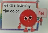 Color of the Day / Week Circle Time Display - Cute Color Monsters