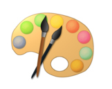 Color paint clipart