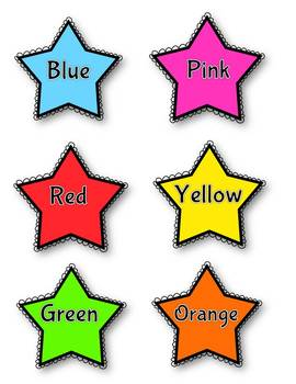 Color poster - stars