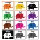 Color posters: Elephants